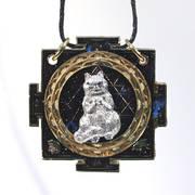Довольный Космический Котик
