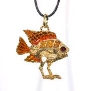 Самоходная рыбка с автоподзаводом